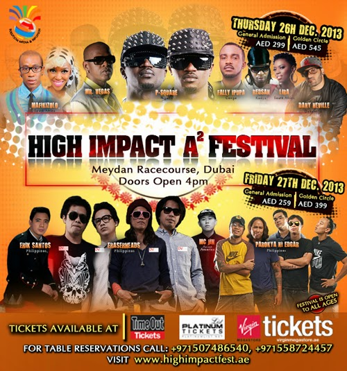 The Eraserheads Live with Parokya ni Edgar for High Impact A2 Festival