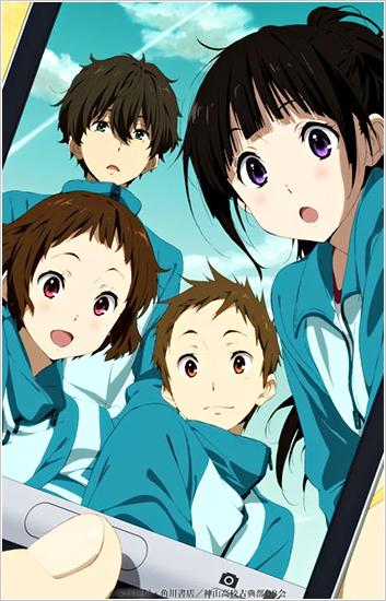 Hyouka di Rekomendasi Anime Romance - Drama Terbaik