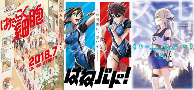 daftar anime summer 2018, jadwal anime summer terbaik 2018
