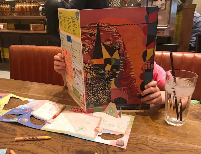 reading the Nando menu