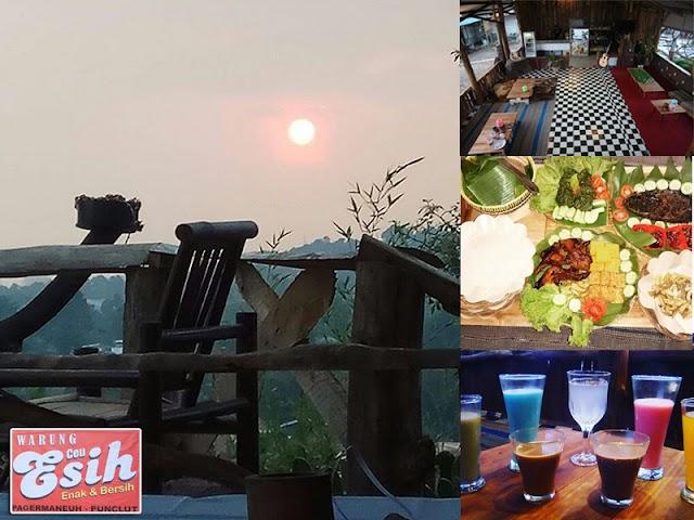 Warung Ceu Esih, Tempat Kuliner Pilihan di Punclut