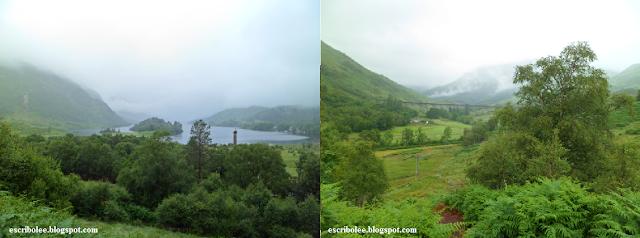 Viaje a Escocia día 6 Viaducto del tren y las vistas del monumento cuando girabas 180º