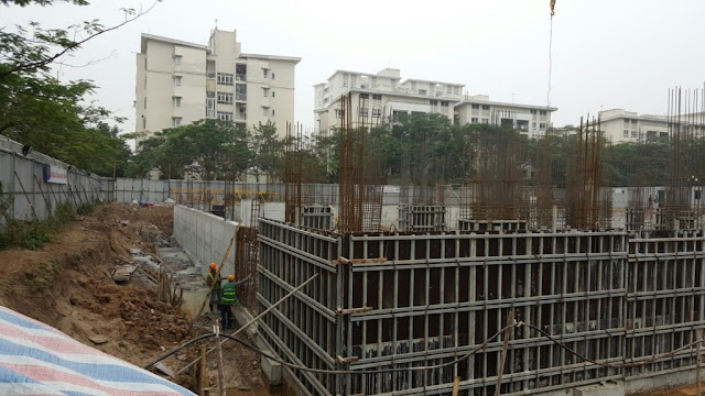 Tiến độ xây dựng chung cư Valencia Garden