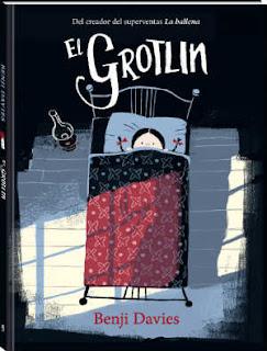 selección cuentos infantiles día del libro 2018, el grotlin benji davies