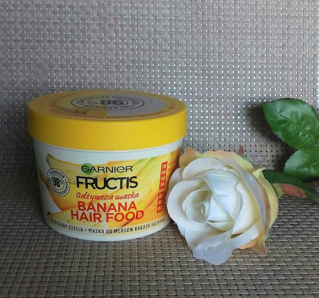 Garnier fructis banana hair food odżywcza maska do włosów bardzo suchych