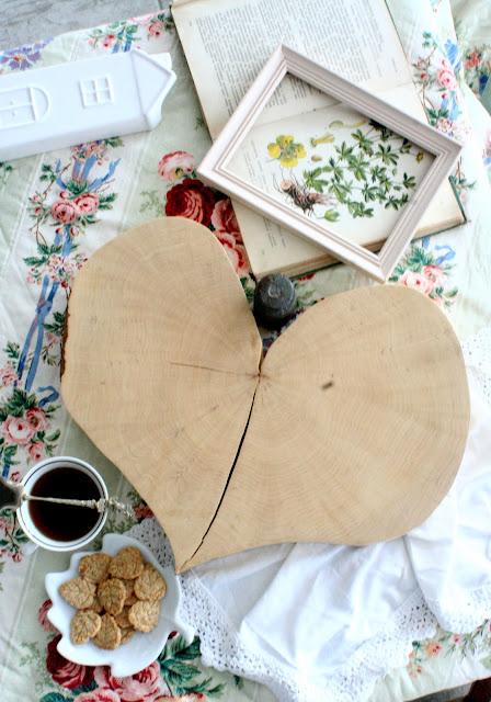 deska kuchenna serce