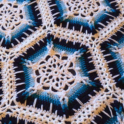Crochet Winter Blizzard Afghan -  Tutorial