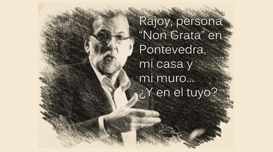 """Rajoy, """"persona non grata"""""""