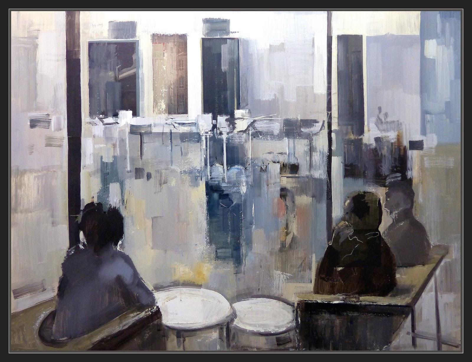 Ernest descals artista pintor cafeterias pintura - Cuadros de interiores ...