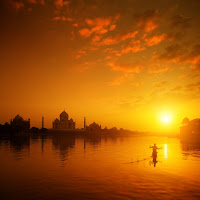 Inspired in India | Taj Mahal  Sunset