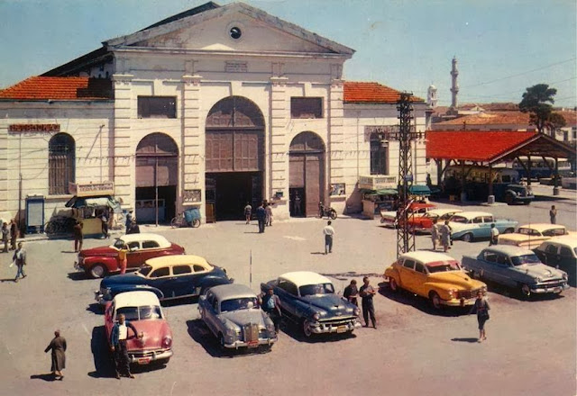 Crete+Chania+Municipal+Agora+1960.
