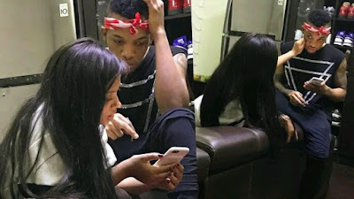 Trouble ?? Singer Tekno And Beautiful Girlfriend 'Lola Rae' Unfollow Eachother On Instagram (Screenshot)