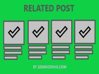 Cara Membuat Related Post di Wordpress Tanpa Plugin (Manual)