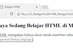 Penggunaan dan Penulisan Tag abbr, cite, dfn dan small Dalam HTML