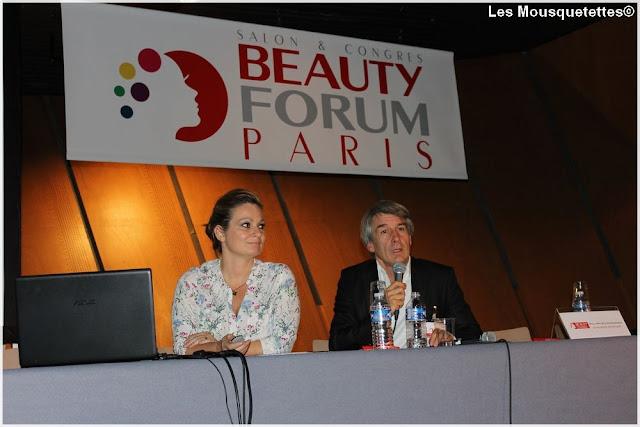 Conférence Starvac - Beauty Forum Paris - Blog beauté Les Mousquetettes