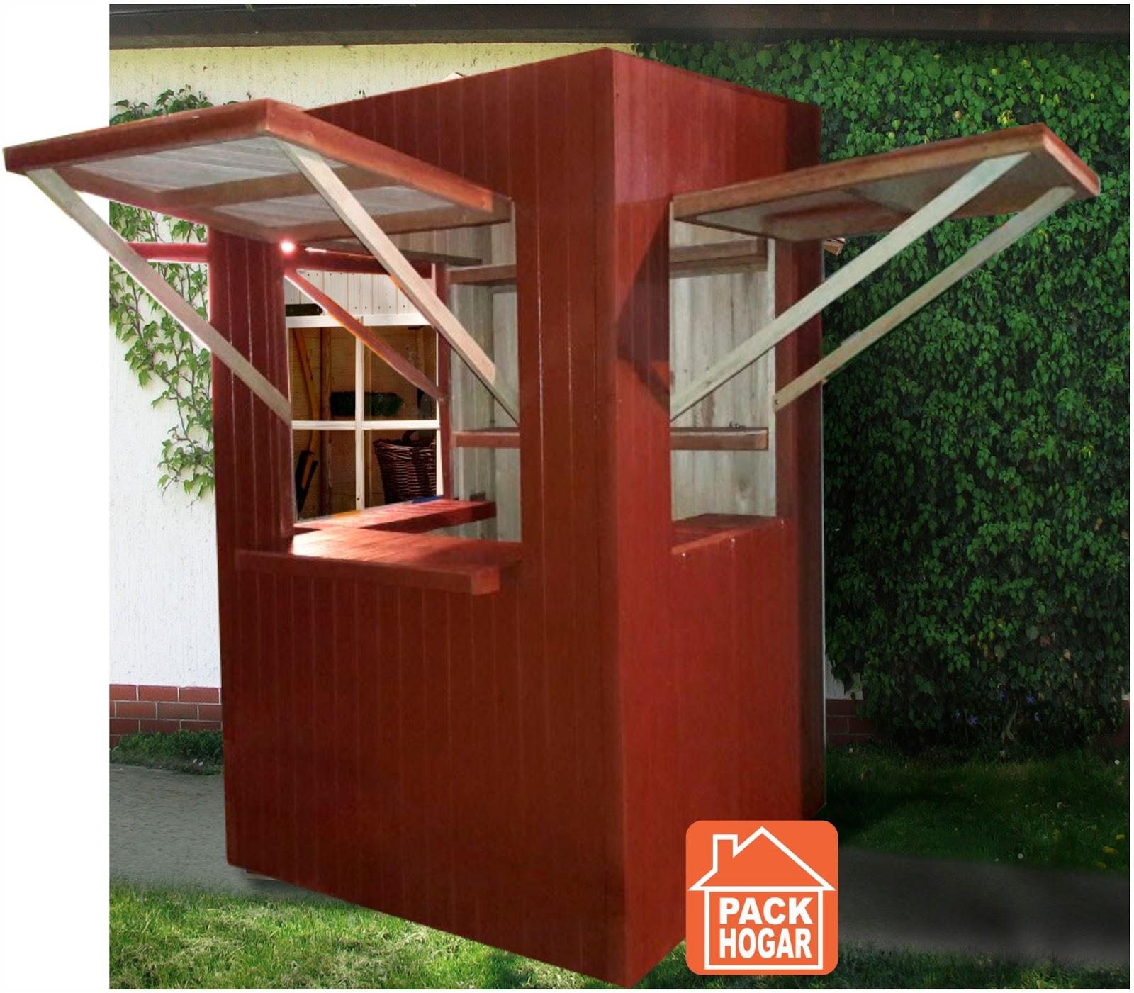 Kioscos de madera en peru for Kioscos de madera baratos