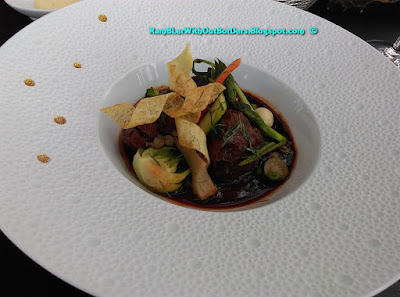 Wagyu Beef cheek, Robuchon au Dôme, Grand Lisboa, Macau