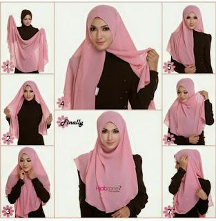 15+ Cara Memakai Hijab Terbaru Mudah, Simple, Modern