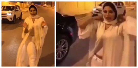 فيديو.. شيرين الرفاعي تشعل الجدل في السعودية بفيديو فاضح