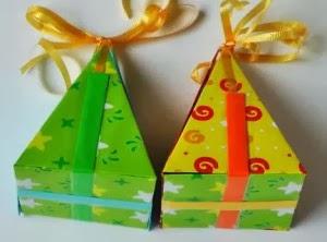 Cajitas de regalo caseras
