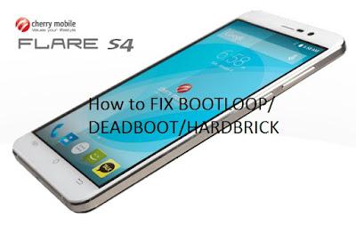 Cherry-Mobile-Flare-S4 bootloop