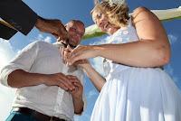 destination mariage échange anneaux photos
