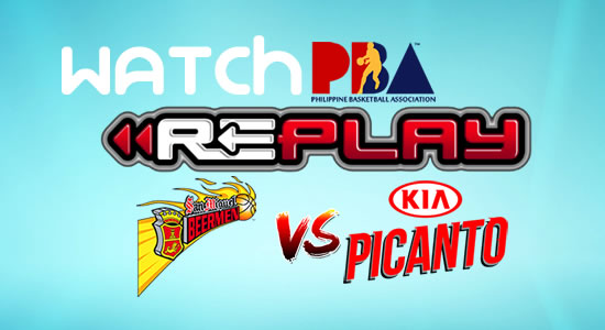 Video List: SMB vs Kia game replay February 23, 2018 PBA Philippine Cup