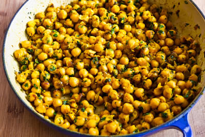 Curried Chickpea Salad  (from Joan's on Third, Los Angeles) found on KalynsKitchen.com