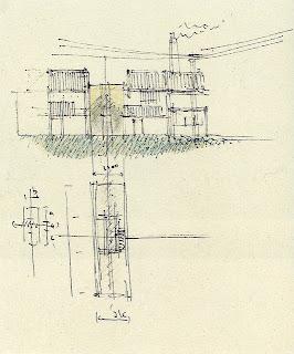 Casa Azuma de Tadao Ando. Osaka. Arquitectura