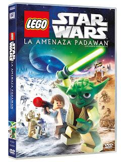 Portada LEGO Star Wars: La amenaza Padawan'