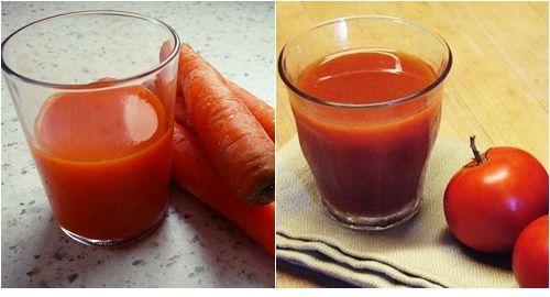 Manfaat jus wortel dan tomat untuk kesuburan