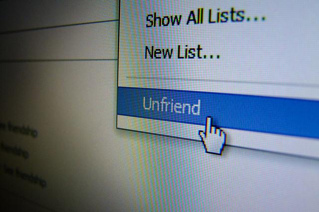 إلغاء الصداقة
