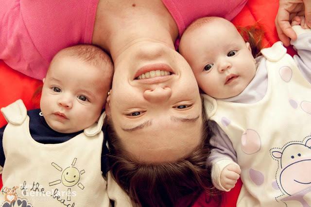 História dos gêmeos Cássio e Luíza - Por Debora da Mota