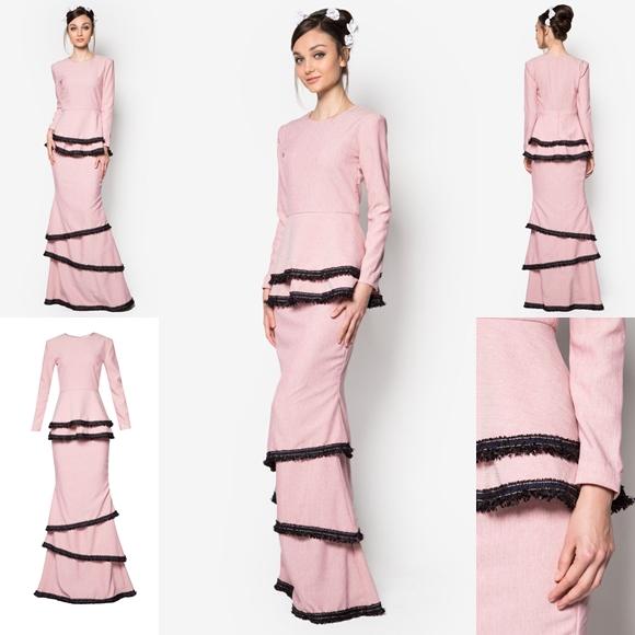Baju Raya 2016 Baju Kurung Peplum Moden Fesyen Terkini