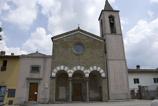 The church of San Cristoforo in Strada in Chianti