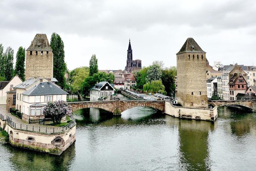 Blick auf das Straßburger Münster