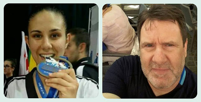 Nίκος Κανέλλος και Μαρία Κουκουμέλου κορυφαίοι της χρονιάς από την Ένωση Τάεκβοντο Νοτίου Ελλάδος