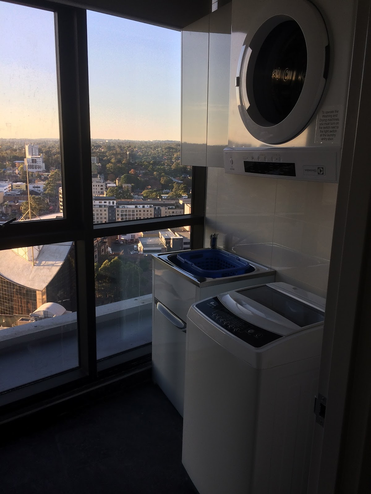 Meriton Church Street Parramatta Laundry