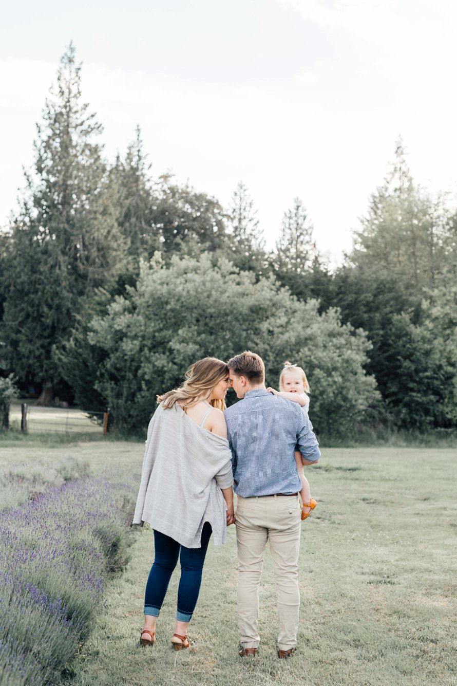 Lavender Farm Maternity Session by Something Minted and More Photography