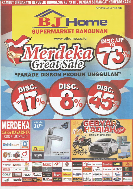 BJ Home Merdeka Sale