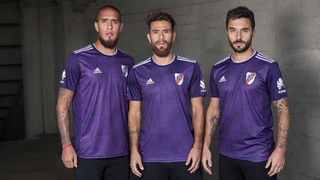3c86eff41 River Plate 18-19 Home   Away Kits Released - Footy Headlines