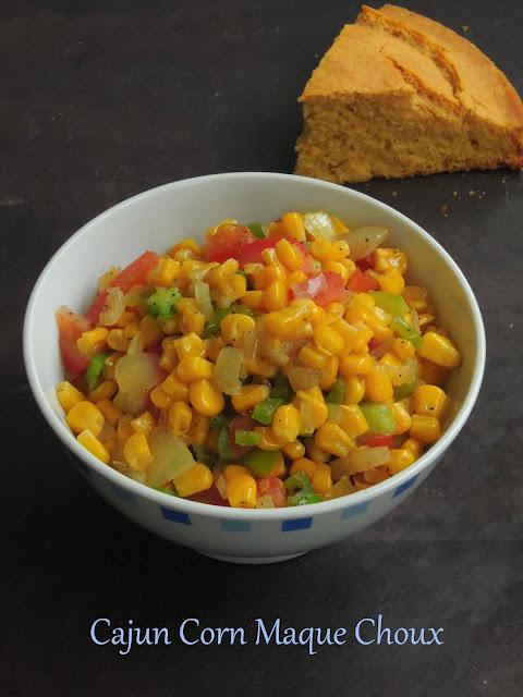 Cajun Corn Maque choux,Cajun Corn Stirfry