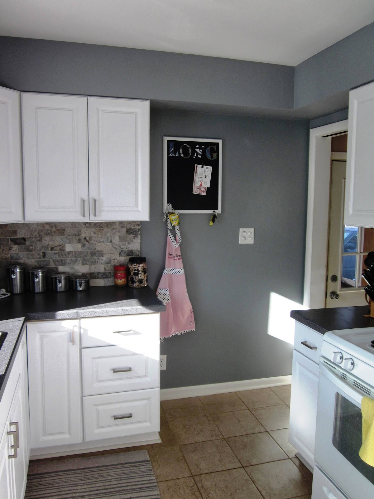 It S A Long Story Kitchen Update New Paint