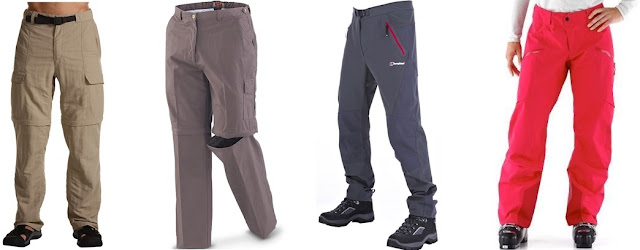 jenis celana gunung