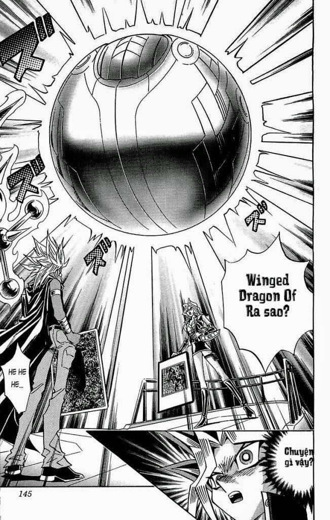 YUGI-OH! chap 221 - vị thần giáng thế trang 20