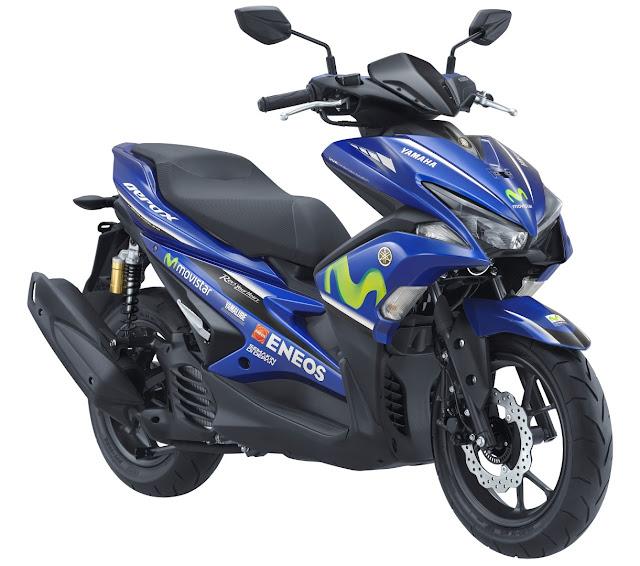 Harga Aerox Movistar Yamaha MotoGP Livery