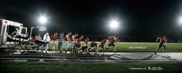Green Pear Diaries, publicidad, creatividad, publicidad creativa, Paralympic.ca