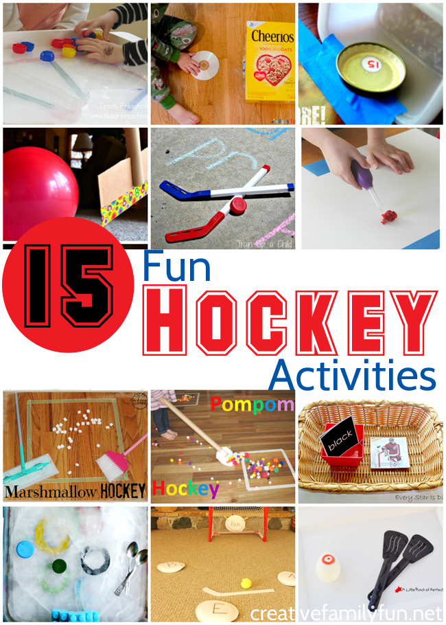Fun games, science projects, crafts, and learning activities for your hockey-loving kids.