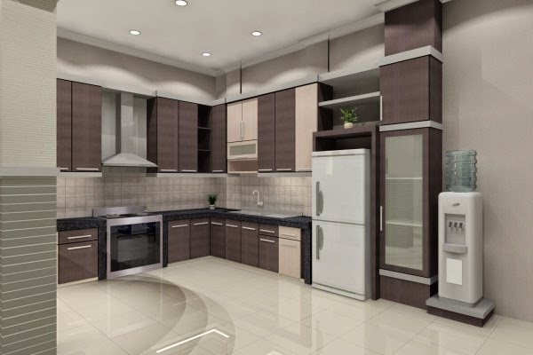 Desain dapur minimalis moderen terbaru 2015