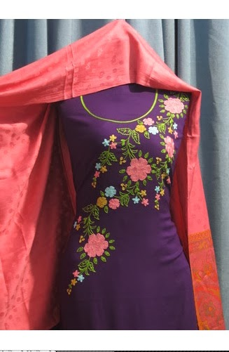 New Hand Made Embroidery Pakistani Dresses 2014 Find Lifestyle